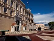 Stock Photo - Europe, France, Principality of Monaco, Monte Carlo. The Prince´s Palace