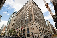 The textile building fifth avenue New York City USA.