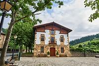 Etxebarri Restaurant, Atxondo, Atxondo Valley. Biscay, Basque Country, Spain, Europe.
