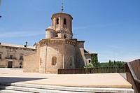 Almazan in Soria province Castilla Leon Spain San Miguel church.