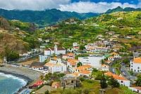 Porto da Cruz. Madeira, Portugal, Europe.