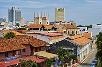 Malaysia, Malacca state, Malacca, Unesco Wold Heritage, historical center.
