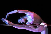 Ballet student on bar