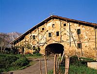 Caserío (typical country house). Atxondo. Biscay. Basque Country. Spain