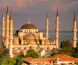 Blue Mosque. Istanbul. Turkey