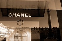 Chanel boutique at Place Vendôme. Paris. France