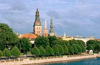 Old town view. Riga. Latvia
