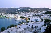 Harbour. Skala. Patmos Island. Dodecanese. Greece