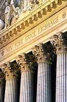 New York Stock Exchange. New York City, USA
