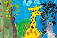 Children´s wall painting