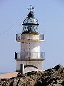 Cap de Creus lighthouse, Cap de Creus Natural Park. Costa Brava, Girona province, Catalonia, Spain