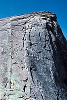 Half Dome, Yosemite National Park, California. USA