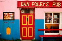 Dan Foley´s pub. County Kerry, Ireland