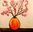 ´Boheme´ 12 x12´ Acrylic on canvas. Artist´s collection. 2005.