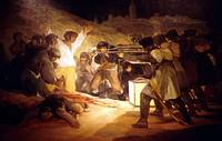 ´Los fusilamientos del 3 de mayo´ Francisco de Goya. El Prado Museum. Madrid. Spain