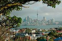 Auckland from Devonport, North Island ,New Zealand