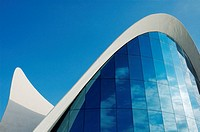 Oceanogràfic aquarium (architect Felix Candela), City of Arts and Sciences. Valencia, Comunidad Valenciana, Spain