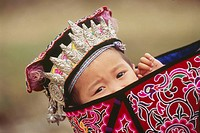 Shui child, dabian village, guizhou, China