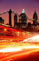 Traffic in New York City. USA