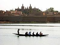 Komoguel Mosque. Mopti. Niger inland delta, Mali