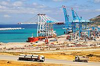 Tangier New Mega port, Tangier, Morocco