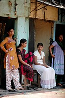 Mumbai India, prostitutes at Falkland road