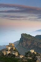 View of village. Al Karn, Al Mahwit Province, Yemen