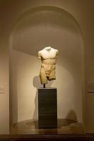 Torso of ´Discophoros´. Prado Museum. Madrid. Spain