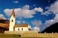 Church, Melago (Melag), Via Vallelunga, Trentino-Alto Adige, Italy