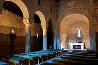 Basaílica visigoda de San Juan. S.VII. Baños de Cerrato. Palencia. Castilla y León. España