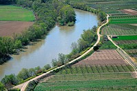 Camino del Ebro River in Navarre