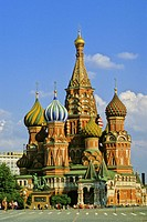Russia, Moscow, St Basil´s Cathedral