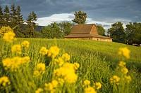 Barn, Sultan City, Stevens Pass Scenic Highway, Washington State, USA