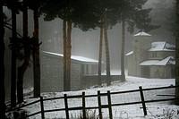 Winter Picture, Parador de Gredos, Avila