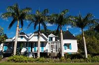 Colonial house built in 1872, Domaine des Aubineaux, Mauritius