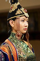 Mongolia. Ulaan Bator. Fashion show at Torgo house.