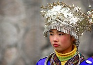 Miao minority. China