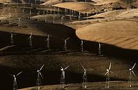 Windfarm. Livermore, California, USA