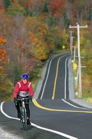 Cyclist-and-Road