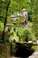 Vista Villa de la Emperatriz en Eaux Bonnes, Francia.