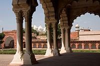 Agra Fort, Agra. Uttar Pradesh, India
