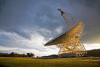 Green Bank, West Virginia - The Robert C  Byrd Green Bank Telescope at the National Radio Astronomy Observatory  The GBT is the largest fully-steerabl...