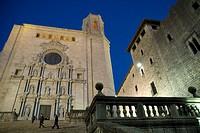 Cathedral, Girona  Catalonia, Spain