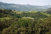 Mirador de Cofria, Valle del Nansa. Cantabria, Spain