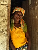 Young woman, Mozambique