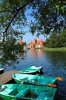 Trakai Island Castle and Lake Galve, Lithuania