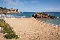 Cala de la Fosca  Sant Esteve de Mar  España, Catalunya, provincia de Girona, Baix Empordà, Palamós