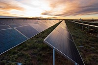 Solar photovoltaic electricity generating plant, Springerville, Arizona