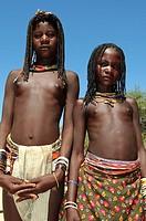 zemba girls, opuwo, namibia