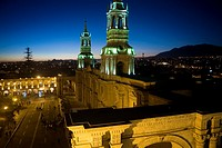Cathedral 17th century, Arequipa, Peru